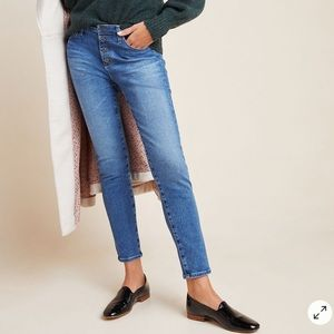 NWT AG The Stevie High-Rise Skinny Ankle Jeans